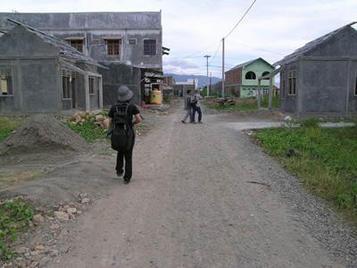 津波災害後の住宅供給状態の現地調査(インドネシア・スマトラ島)