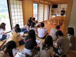 十津川村で学ぶ高齢者の暮らし_福祉住環境学(3回生)